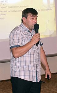 Юрий Савченко, отдел технических культур, BASF в Украине