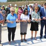 La Coşniţa a fost lansat un nou sistem de irigare reconstruit cu suportul Guvernului SUA