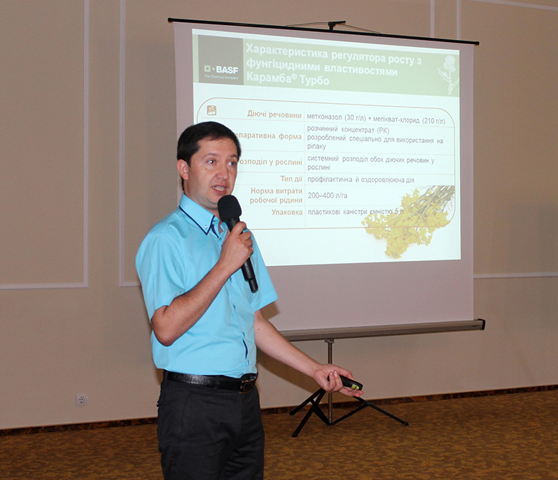 Serghei Ciolovski, conducătorul departamentului culturi tehnice BASF Ucraina