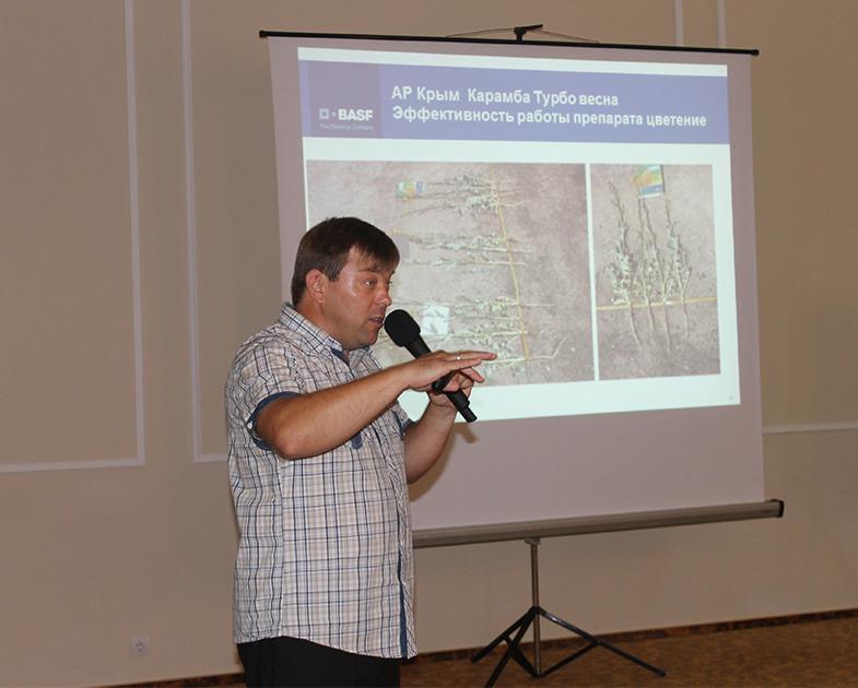 Iurie Savcenko, manager pentru culturi tehnice BASF Ucraina