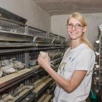 O tânără mămică din Tiraspol a creat o crescătorie de prepelițe cu ajutorul UE