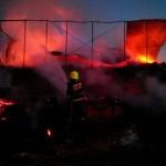 Incendiu la o fermă din Anenii Noi