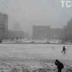 Ucraina lovită de frig şi ninsori