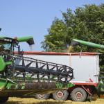 Recolta de grîu a depășit un milion de tone