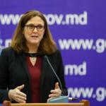 Cecilia Malmstrom: în urma implementării DCFTA s-a dublat exportul de vin moldovenesc în UE